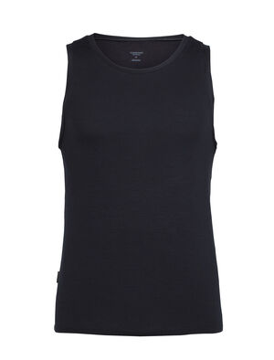 Mens Merino Anatomica Tank Top  A soft, stretchy sleeveless top for active layering and everyday comfort, the slim-fit Anatomica Tank features our ultralight 150gm merino wool corespun fabric.