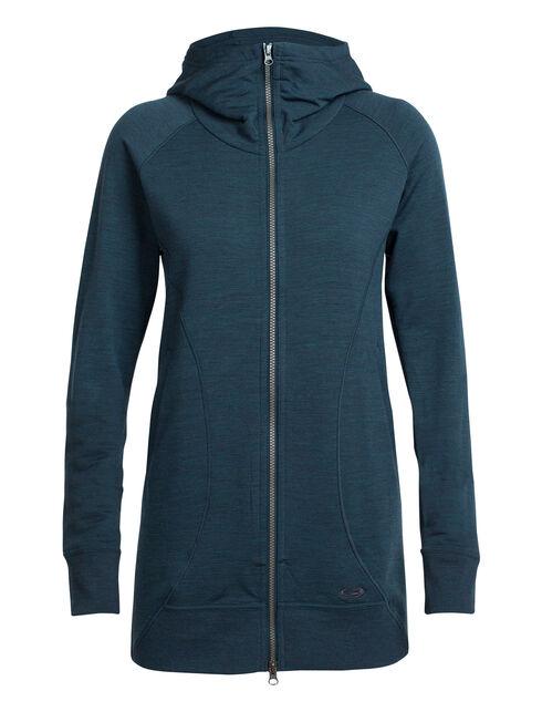 RealFLEECE® Dia Long Hooded Jacket
