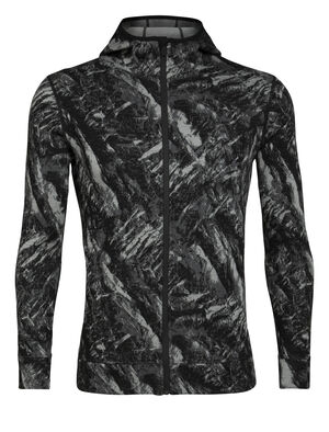 Mens RealFleece® Merino Elemental Long Sleeve Zip Hood Jacket A heavyweight mid layer ideal for training or adventures in cold conditions, the Elemental Long Sleeve Zip Hood features a streamlined design and our stretchy merino RealFLEECE®.