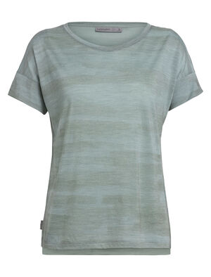 Cool-Lite™ Via T-shirt met korte mouwen en lage ronde hals van merinowol