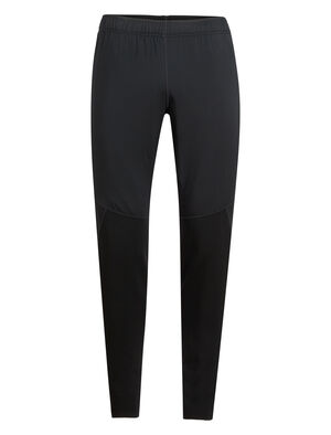 Mens Tech Trainer Hybrid Pants Designed for cold-weather running and training, the Tech Trainer Hybrid Pants combine a merino wool blend with a hybrid construction for technical performance.