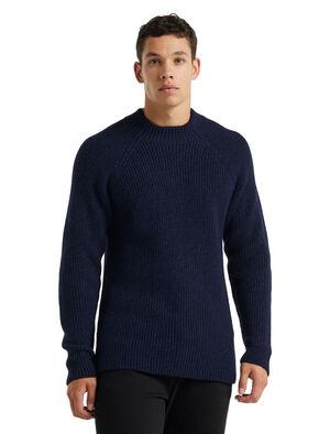 Merino Hillock Funnel Neck Sweater