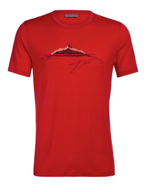 Tech Lite Short Sleeve Crewe Whitecap Whale