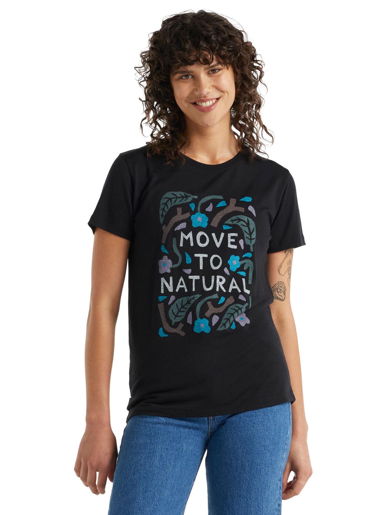 icebreaker x Luke Arnold kortärmad t-shirt i merino Move to Natural