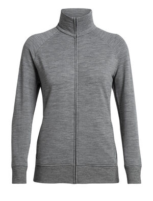 Womens RealFLEECE® Lydmar Long Sleeve Zip A relaxed fit women's merino wool fleece mid layer with our corespun fibers for durability and stretch, the Lydmar Long Sleeve Zip is an everyday mid layer jacket perfect for hiking and travel.
