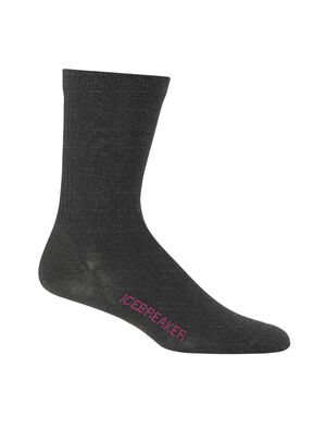 Womens Merino Lifestyle Ultralight Crew Socks Ultra-lightweight, soft, and breathable for everyday comfort, the Lifestyle Ultralight Crew socks are made with a stretchy and luxurious merino wool blend, with reinforced heels and toes.