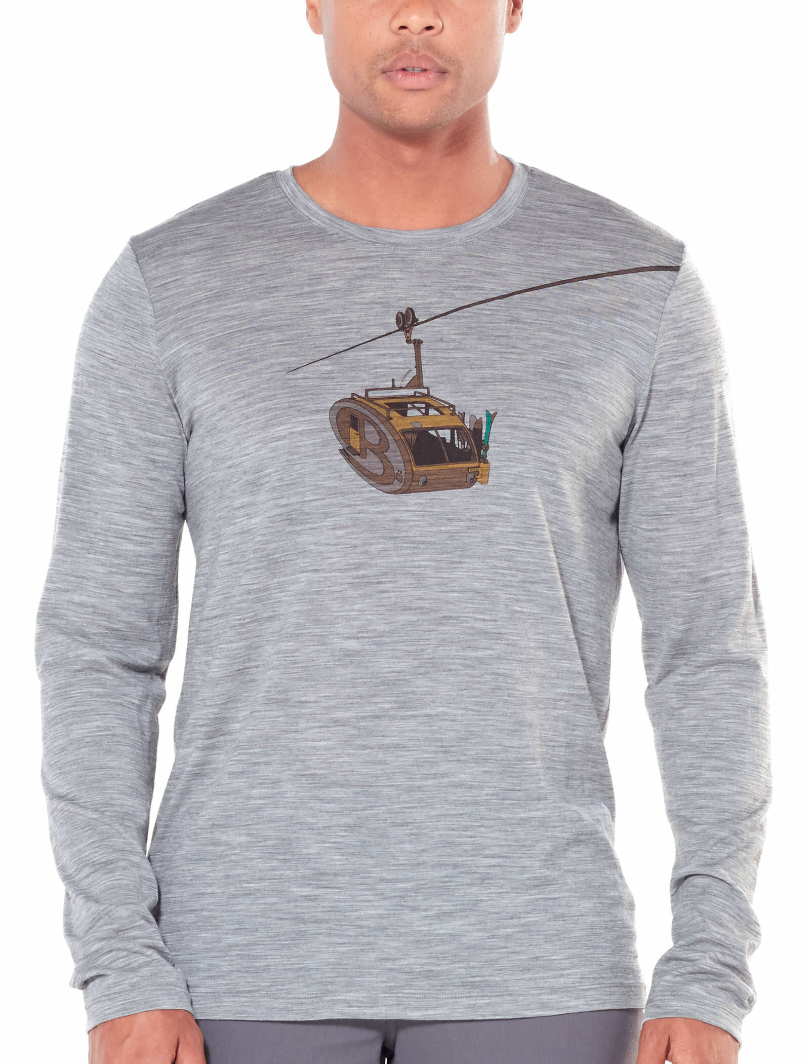 Icebreaker Mens Sphere Ls Crewe Tshirt de randonn/ée Homme