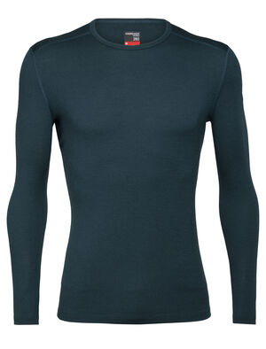 Mens Merino 260 Tech Long Sleeve Crewe Thermal Top A warmer, midweight version of our best-selling Oasis, the 260 Tech Long Sleeve Crewe is a go-to piece for winter layering, made with 100% merino wool.
