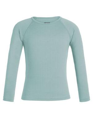 儿童款 200 Oasis长袖圆领上衣 200 Oasis长袖圆领上衣以天然柔软和透气的100%美丽诺羊毛制成,无论作为寒冷天气中的保暖层还是日常叠搭的单品都十分合适。