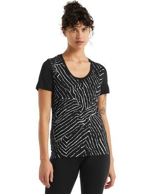 美丽诺羊毛Tech Lite II 短袖低圆领T恤(Tessellated Pavement)