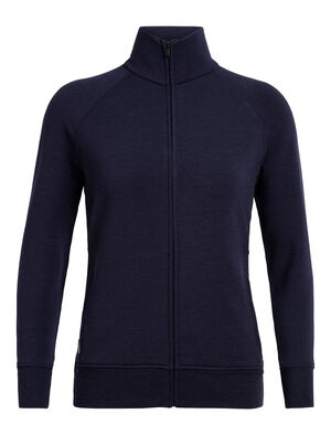 Womens RealFleece® Merino Lydmar Long Sleeve Zip Jacket A relaxed fit women's merino wool fleece mid layer with our corespun fibers for durability and stretch, the Lydmar Long Sleeve Zip is an everyday mid layer jacket perfect for hiking and travel.