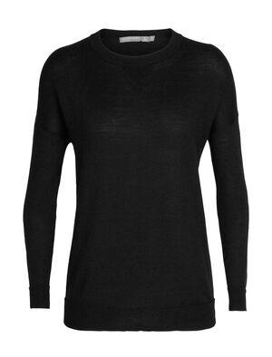 Damen Cool-Lite™ Merino Nova Sweatshirt Ein leichtgewichtiger, legerer Damenpullover für jeden Tag aus unserer cool-lite™ Merinomischung, das Nova Sweater Sweatshirt kombiniert einen klassischen Look mit Atmungsaktivität und seidig weichem Tragegefühl.