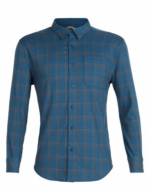 Cool-Lite™ Compass法兰绒长袖衬衫