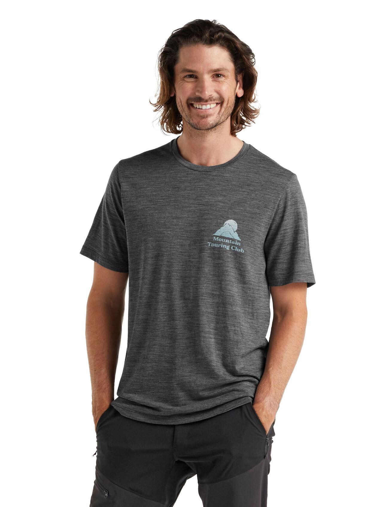Tech Lite II T-shirt Mountain Touring Club met korte mouwen van merinowol