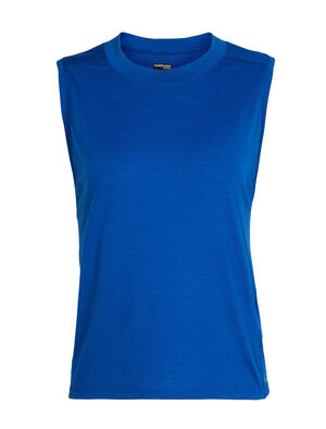Womens Cool-Lite™ Kinetica Sleeveless Crewe A high-performing sleeveless top made to move freely with you, the Kinetica Sleeveless Crewe features Cool-Lite™ fabric for comfort in the heat