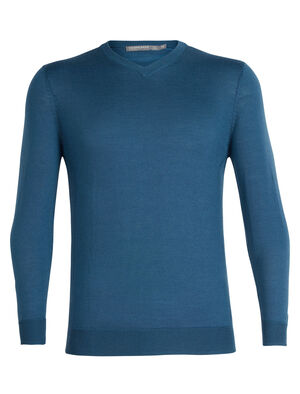 Mens Cool-Lite™ Quailburn V Sweater Shrug off the cold in style in this versatile summer-weight sweater. The Quailburn V Sweater is lightweight yet warm and cozy in Cool-Lite™ yarn