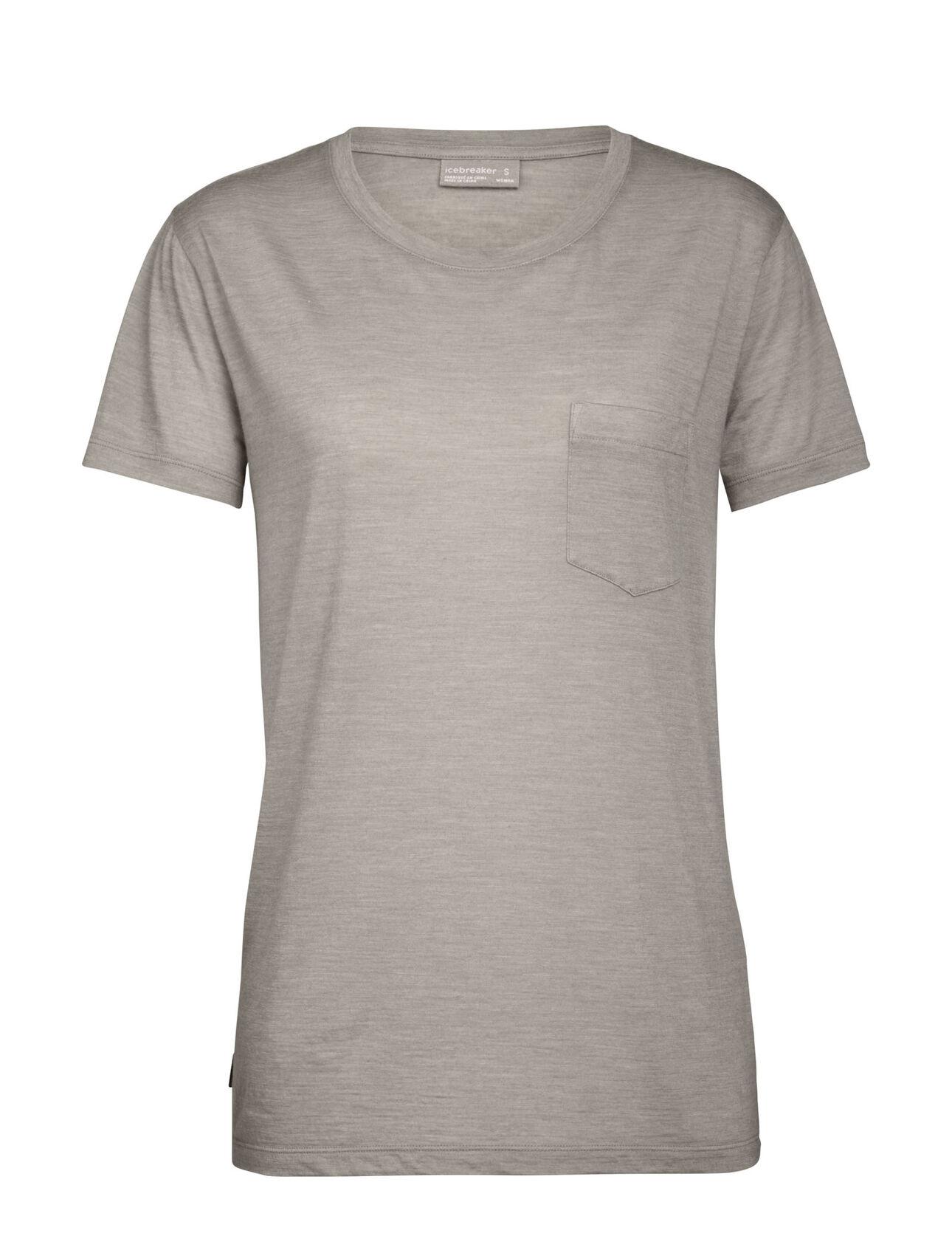 Merino Nature Dye Drayden Short Sleeve Pocket Crewe T-Shirt