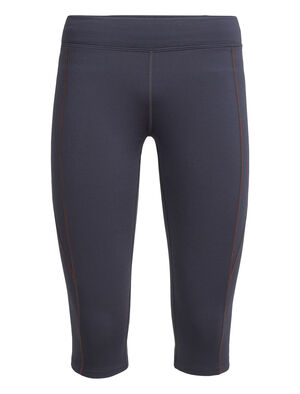 Womens Comet 3Q Tights Warm winter women's merino wool tights ideal for running, hiking or training in cold weather, the Comet 3/4 Tights feature stretchy merino wool and also function as a heavyweight baselayer for skiing.