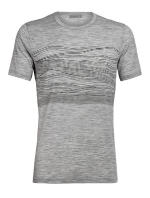 Mens Tech Lite Short Sleeve Crewe 1000 Vistas Our most versatile tech tee, in breathable, odour-resistant merino wool. Artist Zachary Snyder's view of the Alps from Switzerland seems to encompass 1,000 peaks at once.