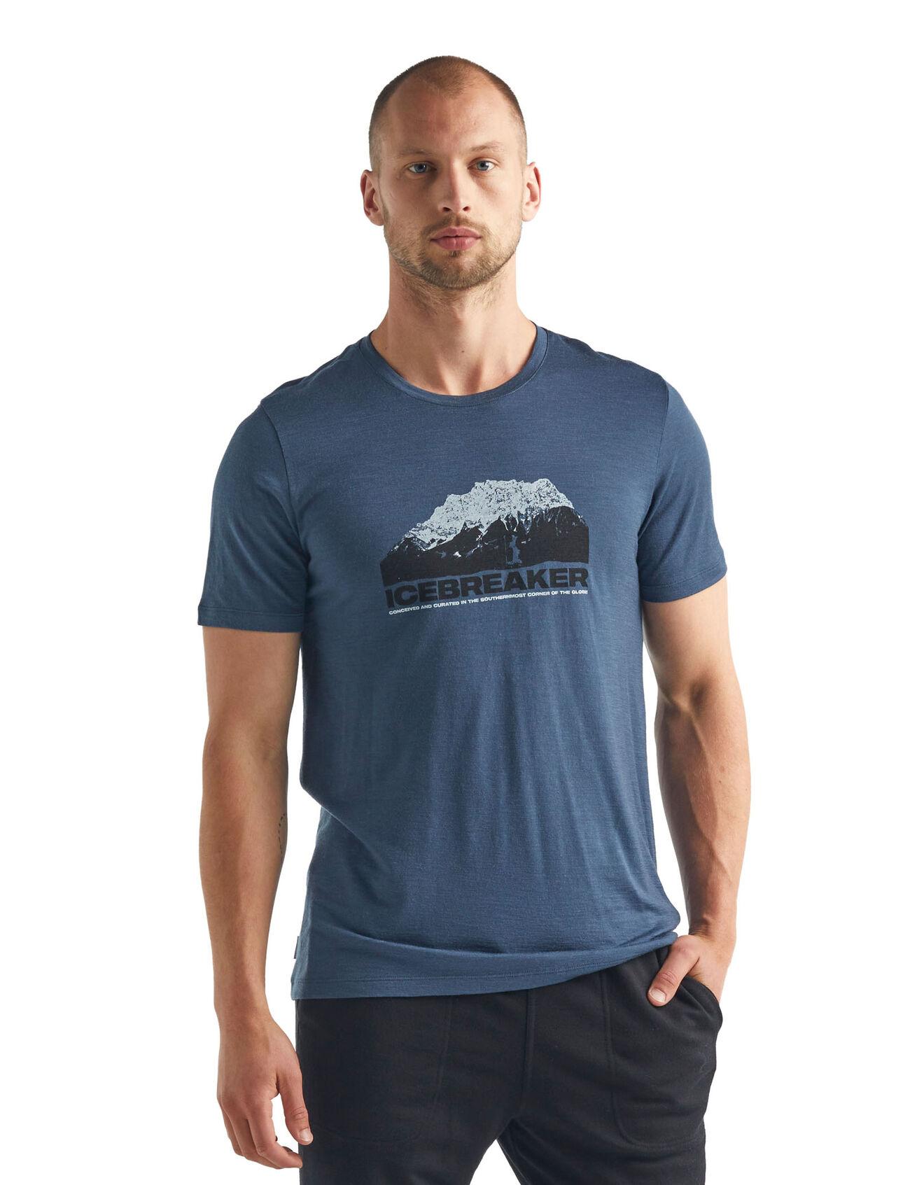 Merino Tech Lite Short Sleeve Crewe T-Shirt Icebreaker Mountain