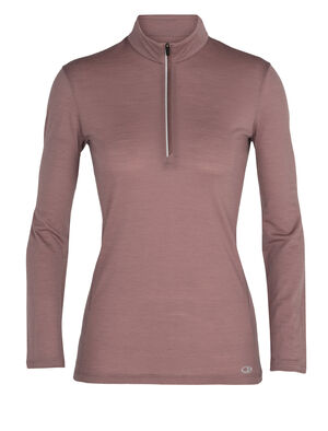 Womens Cool-Lite™ Merino Amplify Long Sleeve Half Zip Top An ultralight technical top that harnesses the natural performance of merino, the Amplify Long Sleeve Half Zip is ready for anything thanks to our breathable Cool-Lite™ fabric.