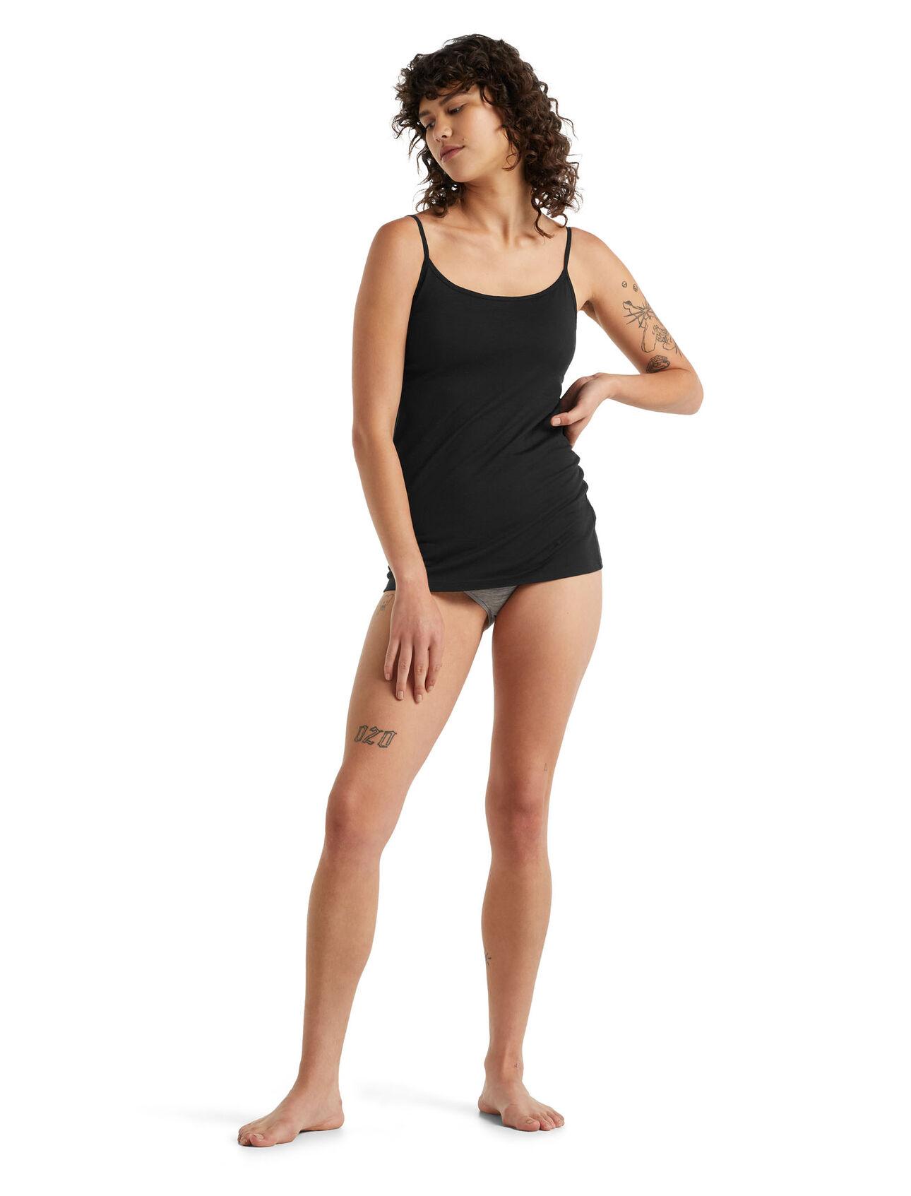 Débardeur à bretelles avec soutien-gorge intégré et culotte Siren Femme