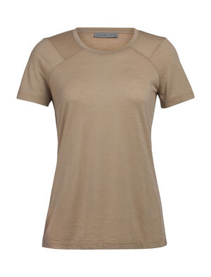 Womens Nature Dye Galen Short Sleeve Crewe A lightweight women's top that's dyed with natural plant pigments, the nature dye Galen Short Sleeve Crewe is comfortable and versatile for home or travel.