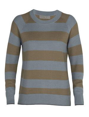 女款 Cool-Lite™美丽诺羊毛Utility Explore圆领针织衫 Utility Explore圆领针织衫以Cool-Lite™面料制成,搭配休闲宽松剪裁,是一款采用100%天然纤维、柔软透气的美丽诺羊毛混纺针织衫。