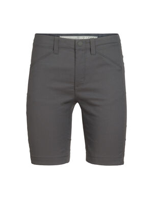Womens Persist Shorts Versatile and stylish women's merino-blend shorts perfect for travel, biking or any other adventure on your list, the Persist Shorts combine a durable, stretchy face fabric with soft merino wool for total active comfort.