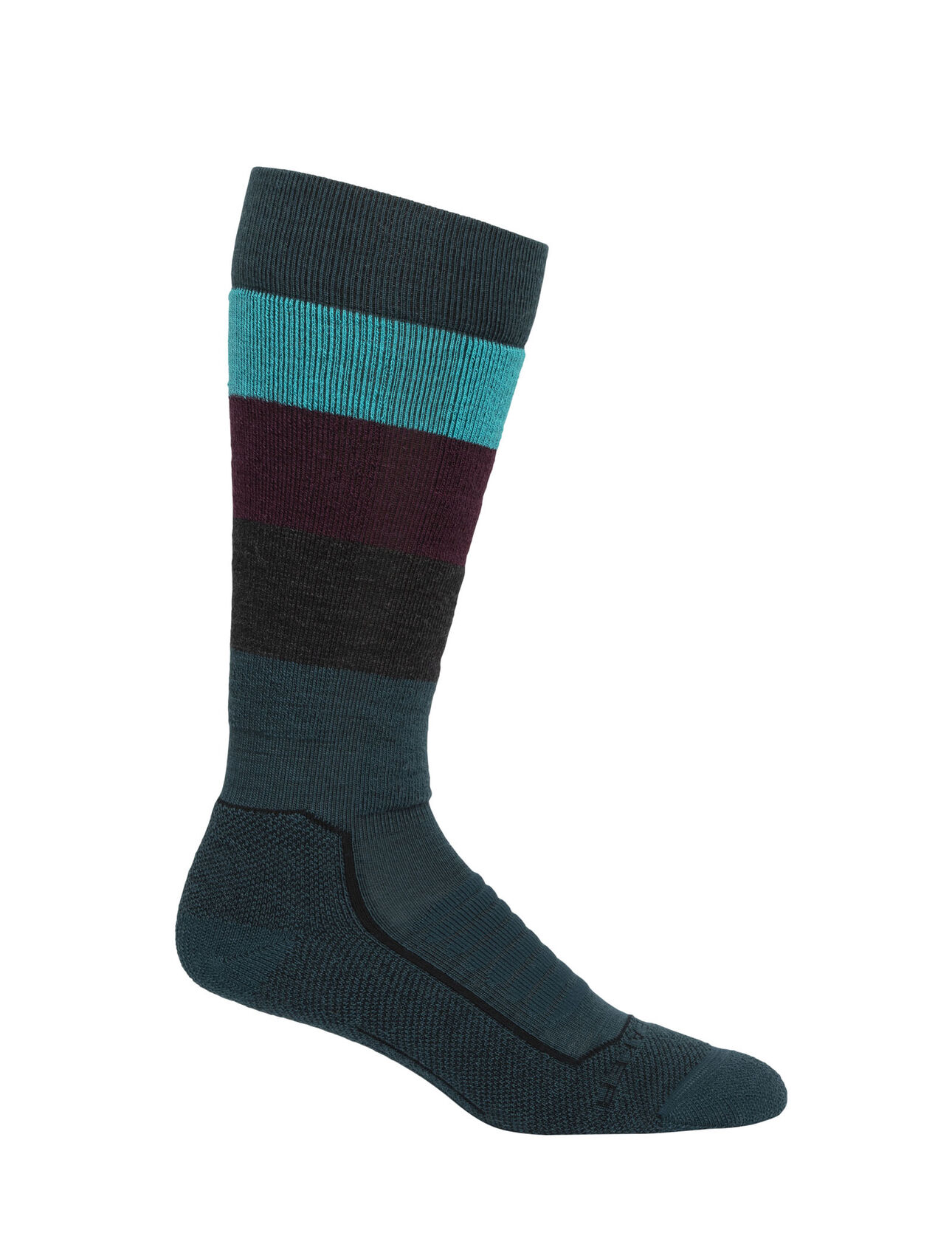 Icebreaker Merino womens Ski Medium Cushion Merino Wool Over the Calf Socks