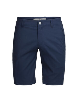 Mens Merino Connection Commuter Shorts Durable, comfortable and stylish men's casual shorts designed with nylon, merino and Spandex, the Connection Commuter Shorts are perfect for travel and the daily commute.