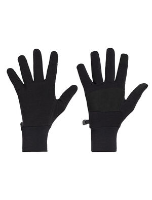 Unisex RealFLEECE® Sierra Gloves Warm and functional, the Sierra Gloves are made with midweight merino-blend realfleece® fabric and include faux-suede palms and touchscreen-compatible fingertips.