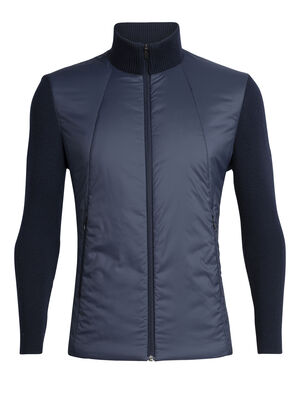Mens Merino Lumista Hybrid Sweater Jacket A go-to jacket that combines stylish comfort and core warmth for serious on-mountain performance, the Lumista Hybrid Sweater Jacket offers the best of both worlds.