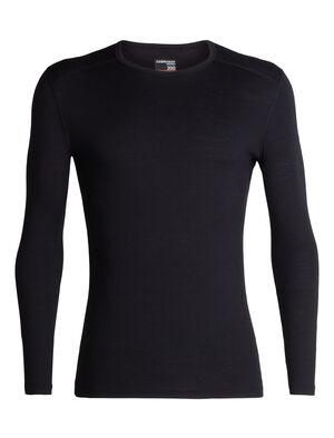 男款 200 Oasis长袖圆领上衣 200 Oasis长袖圆领上衣以透气的100%美丽诺羊毛平纹针织面料制成,是我们的畅销款打底上装,无论前往何处均可穿着,用途广泛。