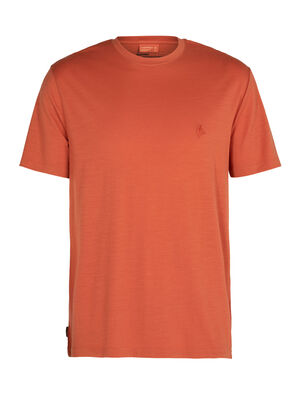Nature Dye Merino Sisao Short Sleeve Crewe T-Shirt Dye Origin
