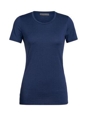 Damen Merino Tech Lite T-Shirt Unser vielseitigstes Merino Tech T-Shirt, das kurzärmlige Tech Lite T-Shirt mit tiefem Rundhalsausschnitt ist stretchig, hochatmungsaktiv und geruchsabweisend – perfekt für jedes Abenteuer, das du dir vorstellen kannst.