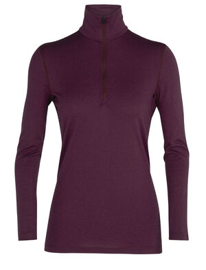 Womens Merino 200 Oasis Long Sleeve Half Zip Thermal Top Our versatile 100% merino wool base layer top with a classic zip-neck design, the 200 Oasis Long Sleeve Half Zip combines casual comfort with technical performance.