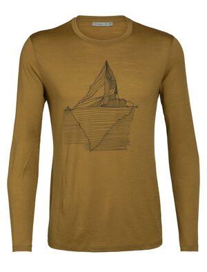 Mens Merino Tech Lite Long Sleeve Crewe T-Shirt Oneberg Our most versatile tech tee, in breathable, odor-resistant merino wool with a slight stretch. Artist Zach Snyder traces the rise in the global average temperature since 1850, an iconic graphic that has come to symbolize climate change.