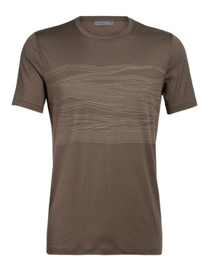 Merino Tech Lite Short Sleeve Crewe T-Shirt 1000 Vistas