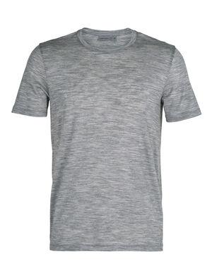 Herr Tech Lite kortärmad t-shirt med rund halsringning Tech Lite kortärmad t-shirt med rund halsringning är vår mest mångsidiga, tekniska t-shirt av merinoull. Den är stretchig, högventilerande och luktmotverkande, vilket gör den perfekt för alla dina äventyr.