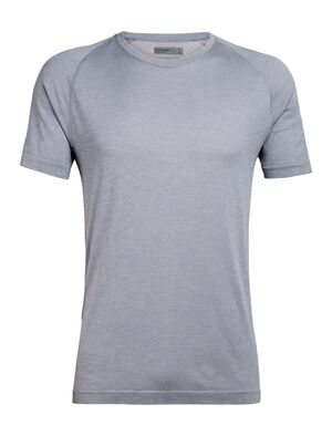 Mens Cool-Lite™ Merino Motion Seamless Short Sleeve Crewe T-Shirt A lightweight and technical training base layer for year-round performance, the Motion Seamless Short Sleeve Crewe is stretchy, moisture-wicking, and incredibly breathable.