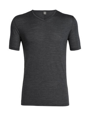 Mens Cool-Lite™ Solace Short Sleeve V A classic slim-fit T-shirt for all-year-round versatility, the Solace Short Sleeve V is made from Cool-Lite™, a blend of merino and natural TENCEL™