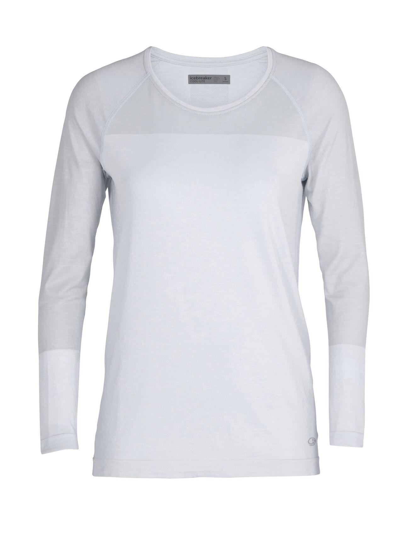 Cool-Lite™ Motion无缝长袖圆领上衣