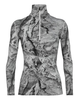 Womens Merino 250 Vertex Long Sleeve Half Zip Thermal Top IB Glacier Justin Brice Guariglia, a New York City based artist and photographer known for his work addressing climate change, has partnered with icebreaker. The icebreaker x Justin Brice Guariglia collection features Guariglias remarkable pictures of Greenlands melting glaciers.Inspired by people with purpose, icebreaker provides a platform to raise greater awareness and visibility of the crisis our natural world is facing.  Find out more