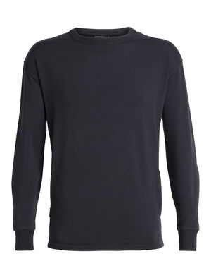Homme 旅 TABI RealFLEECE® Long Sleeve Crewe Haut ras du cou classique et confortable en laine mérinos avec notre tissu RealFLEECE®, le RealFLEECE® Long Sleeve Crewe fait partie de la collection TABI, une collaboration avec la maison de couture japonaise Goldwin.