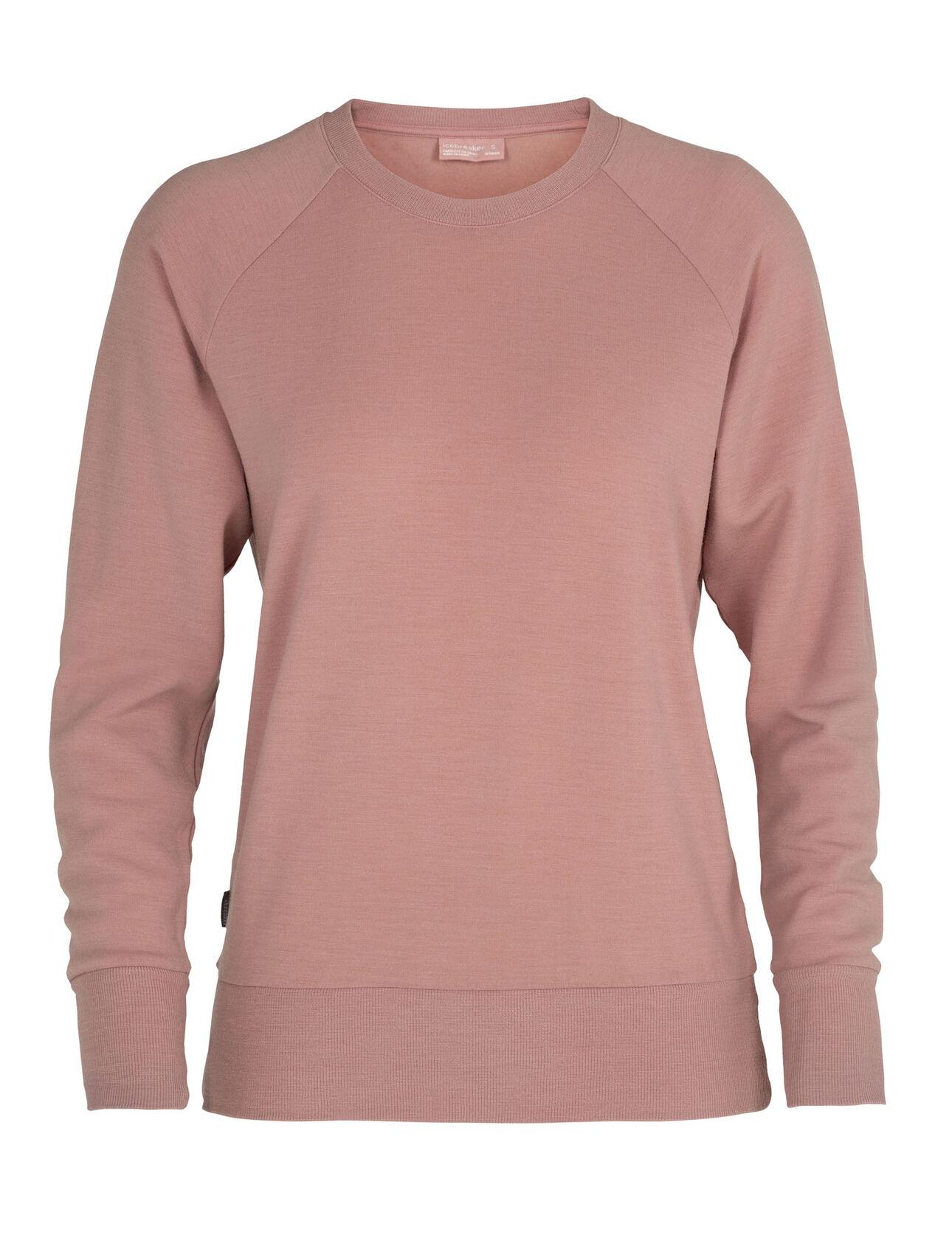 Merino Nature Dye Helliers Long Sleeve Crewe Sweatshirt