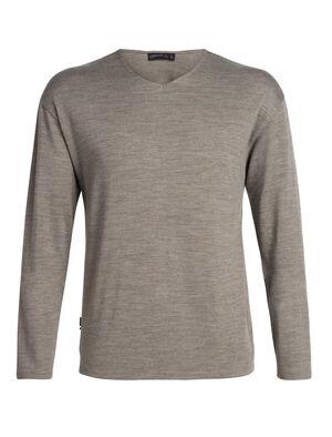 男款 Deice长袖V领上衣 Deice长袖V领上衣作为舒适有型的必备基本款,以100%美丽诺羊毛平纹针织面料制成,打造经典款中厚运动衫。