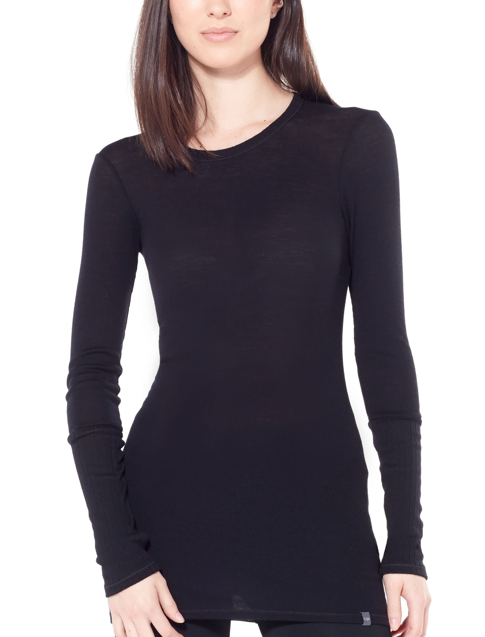 Women's Luxe Rib Long Sleeve Crewe