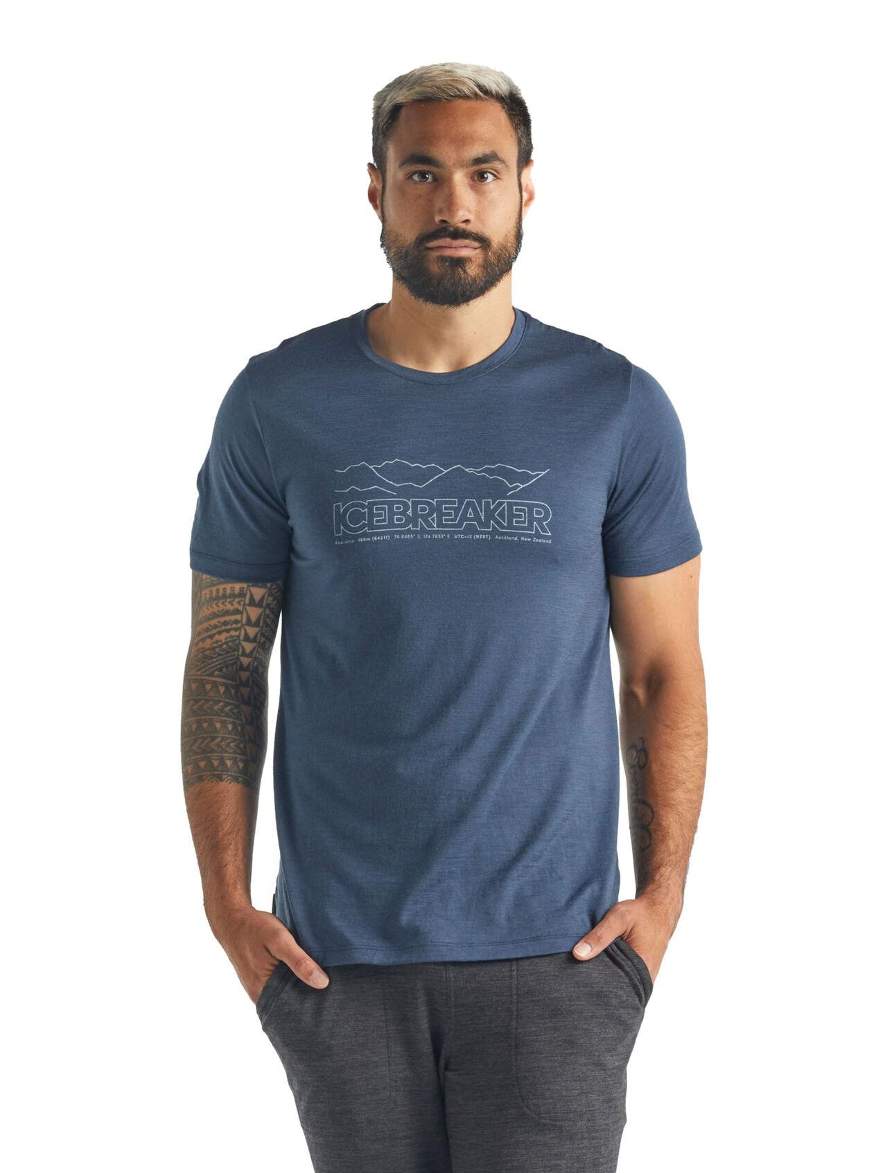 Merino Tech Lite Short Sleeve Crewe T-Shirt Icebreaker Story