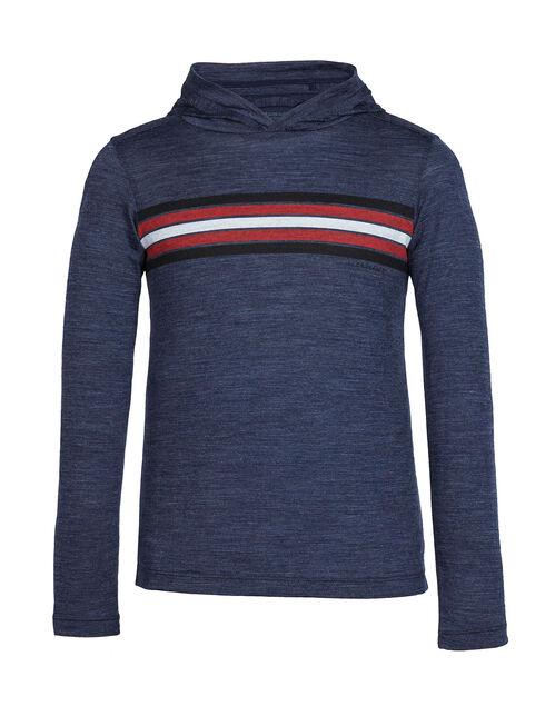 Cool-Lite™ Sphere Long Sleeve Hood Coronet Stripe